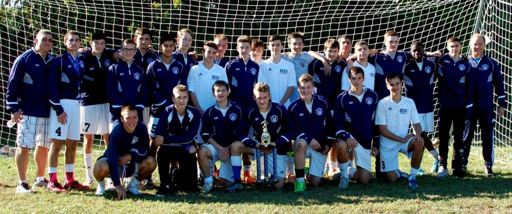 2015 Boys Varsity Soccer Team