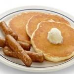 Pancakes-sausage