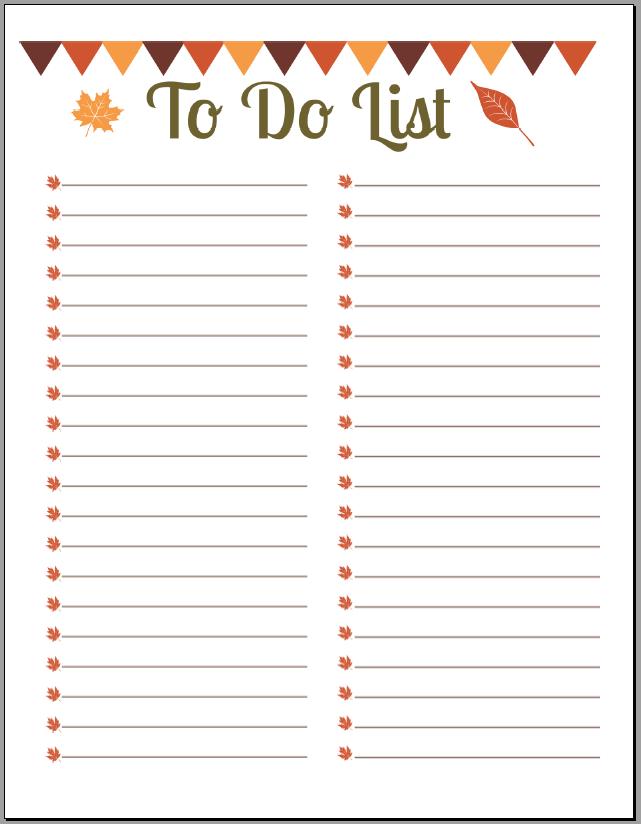 to do list - Gloucester County Christian School